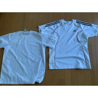 adidas - Tシャツ adidas ミズノ アディダス スポーツTシャツ ホワイト