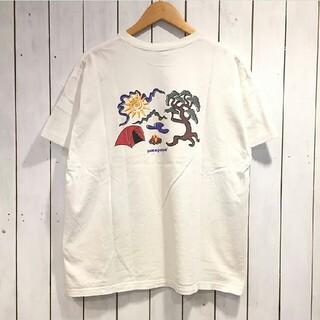 新品未使用 Patagonia ホワイト Tシャツ Mサイズ