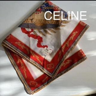 celine - CELINE  セリーヌ ハンカチーフ  ☆ 新品未使用 シール添付