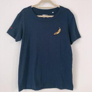 UNIQLO - ユニクロ×アンディーウォーホル Tシャツ Sサイズ ネイビー