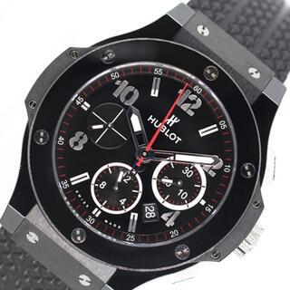 ウブロ(HUBLOT)のウブロ HUBLOT ビックバン ブラックマジック 腕時計 メンズ【中古】(その他)