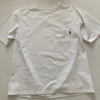 THE NORTH FACE - THE NORTH FACE  ポケットTシャツ ホワイト XL NT11968