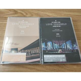 防弾少年団(BTS) - BTS'SPEAK YOURSELF'+'LOVE YOURSELF通常盤DVD