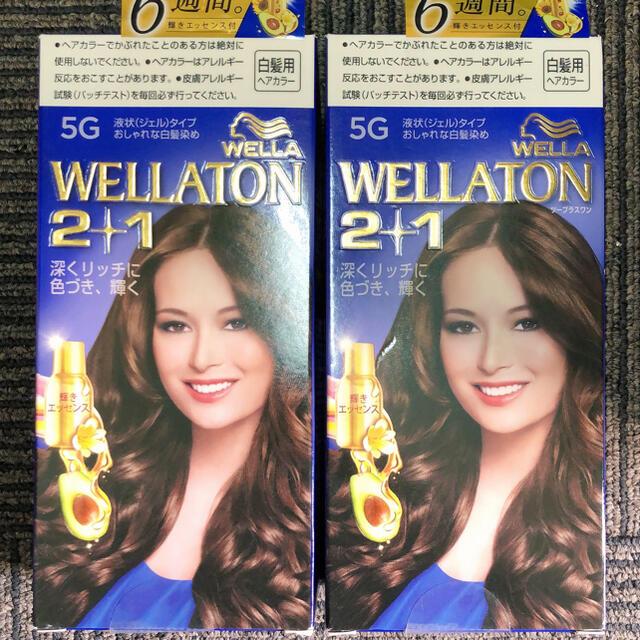 WELLA(ウエラ)のウエラトーン ツープラスワン(2+1) 液状タイプ 5G コスメ/美容のヘアケア/スタイリング(白髪染め)の商品写真
