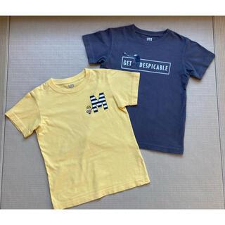 UNIQLO - 子供服 ミニオンズ 半袖Tシャツ2枚 130cm