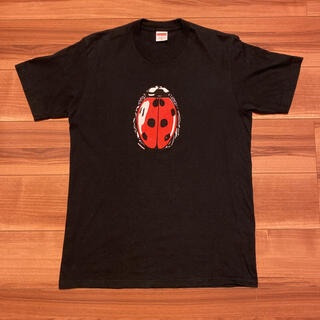 Supreme - 18SS Supreme Lady bug Tee てんとう虫 Mサイズ 黒