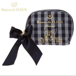 メゾンドフルール(Maison de FLEUR)の新品 Maison de FLEUR クロミ ティッシュポーチ(ポーチ)