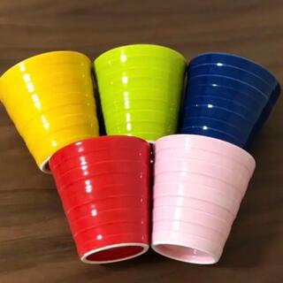 ハサミ(HASAMI)の有田焼 コップ  波佐見焼 高級 サラダ カップ グラス 康創窯 マルヒロ(グラス/カップ)