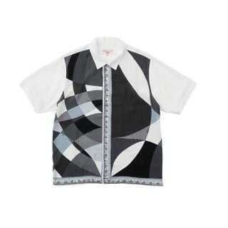 Supreme - Supreme Emilio Pucci S/S Shirt Black XL