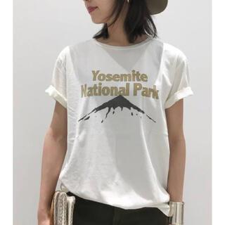 アパルトモンドゥーズィエムクラス(L'Appartement DEUXIEME CLASSE)のL'Appartement REMI RELIEF Yosemite T-sh (Tシャツ(半袖/袖なし))