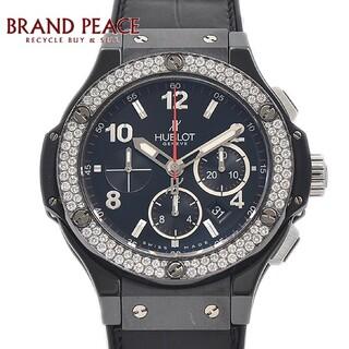 ウブロ(HUBLOT)のウブロ ビッグバン ブラックマジック ベゼルダイヤ 301.CV.130.RX.(腕時計(アナログ))