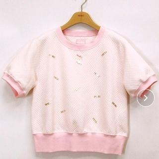 PINK HOUSE - ピンクハウスチェルシー♡ロゴ半袖カットソー ピンク