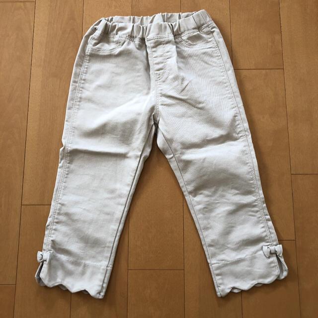 GU(ジーユー)のジーユー パンツ 120 キッズ/ベビー/マタニティのキッズ服女の子用(90cm~)(パンツ/スパッツ)の商品写真