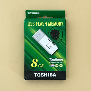 東芝 - USB フラッシュメモリ 8GB