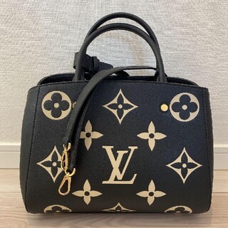 LOUIS VUITTON - 極美品! ☆ルイ・ヴィトン☆ モンテーニュ MM バイカラー ハンドバッグ