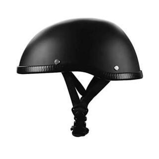 【残りわずか】ヘルメット ダックテール ブラック バイク お洒落