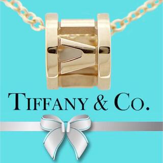 Tiffany & Co. - Tiffany&Co ティファニー アトラス ミニ ネックレス 75PG
