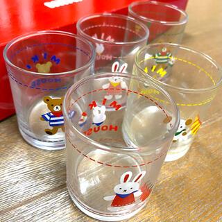 ミキハウス(mikihouse)のMIKIHOUSE✨どうぶつミニグラスセット(グラス/カップ)