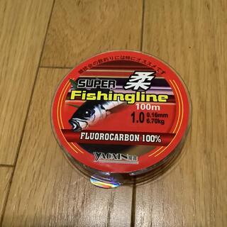フロロ1号 フロロカーボンライン100% 1号 100m 道糸 ハリス(釣り糸/ライン)