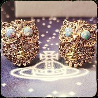 ヴィヴィアンウエストウッド(Vivienne Westwood)の新品・LOUISETTE  Earrings Pink Gold(ピアス)