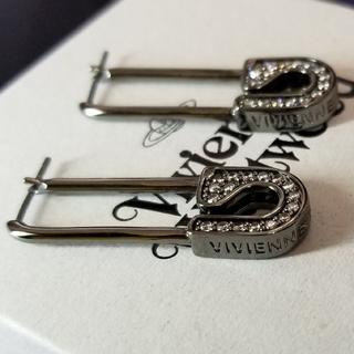 ヴィヴィアンウエストウッド(Vivienne Westwood)の新品・COOKIE LARGE Earrings Gunmetal(ピアス)