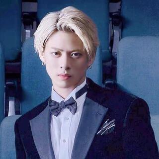 Johnny's - kp様★king&princeネックレス②点★漆黒&赤★45センチ