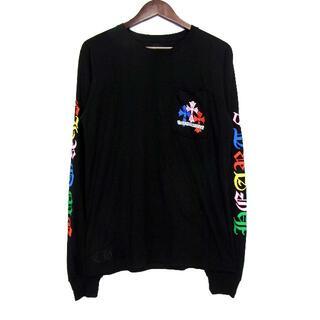 クロムハーツ(Chrome Hearts)のクロムハーツ■マルチカラーセメタリークロスカットソー(Tシャツ/カットソー(七分/長袖))