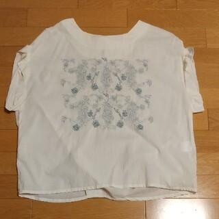 スタディオクリップ(STUDIO CLIP)のスタディオクリップ 刺繍ブラウス(シャツ/ブラウス(半袖/袖なし))