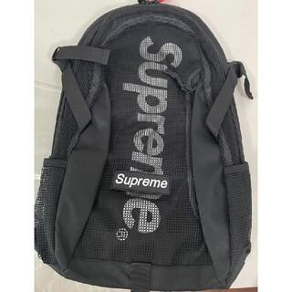 SUPREME 21SS Backpack 2021 ブラック バックパック(バッグパック/リュック)