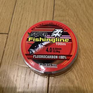 フロロ4号 フロロカーボンライン100% 4号 100m ショックリーダー(釣り糸/ライン)