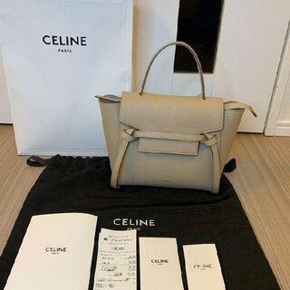 celine - CELINE セリーヌ ベルトバッグ ナノ