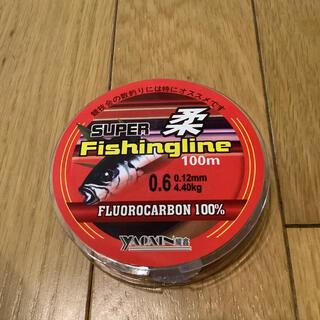 フロロ0.6号 フロロカーボンライン100% 0.6号 100m 道糸 ハリス(釣り糸/ライン)
