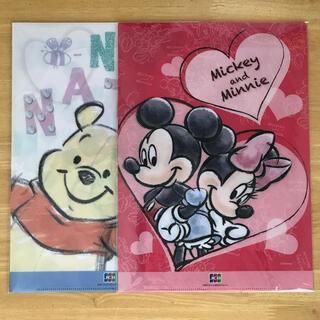 ディズニー(Disney)のクリアファイル ディズニー 2冊セット JCB(クリアファイル)