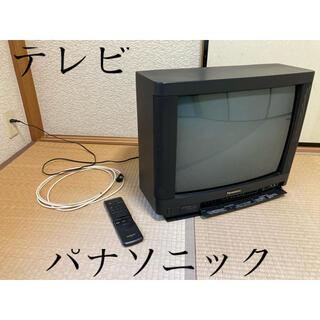パナソニック(Panasonic)の【ブラウン管テレビ】パナソニック21インチ(ジャンク品)(テレビ)