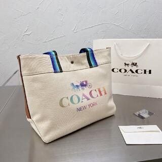 2021新作! COACH トートバッグ バッグ ズックの袋