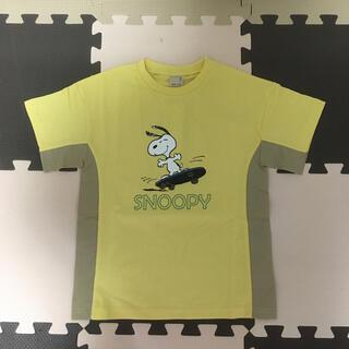 プティマイン(petit main)のプティマイン スヌーピー 脇切り替えTシャツ(Tシャツ/カットソー)