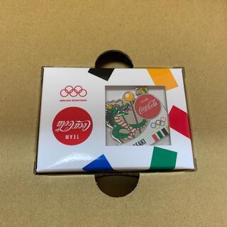 チームコカ・コーラ オリンピック聖火リレー長崎県ピン