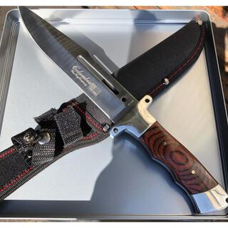 Columbia - コロンビアナイフ G08 フルタング ウッドハンドル アウトドアナイフ