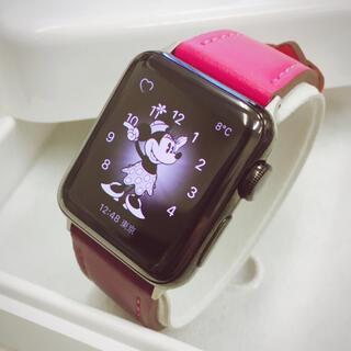 Apple Watch - Apple Watch series2 ブラックステンレス アップルウォッチ