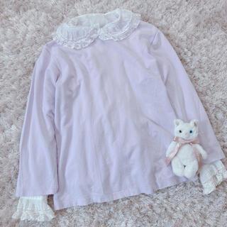 グリモワール(Grimoire)の今週限定 lavender tops(カットソー(長袖/七分))
