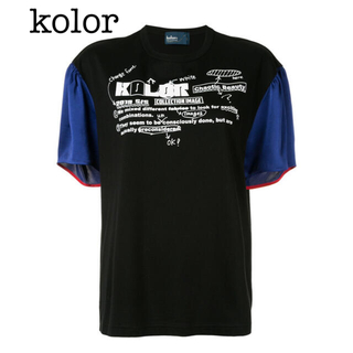 カラー(kolor)のカラー Tシャツ トップス(Tシャツ(半袖/袖なし))
