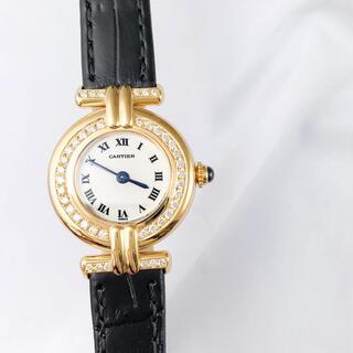 カルティエ(Cartier)の【仕上済】カルティエ コリゼ K18YG ダイヤ ゴールド レディース 腕時計(腕時計)