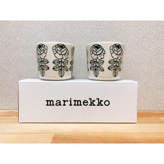 marimekko - マリメッコ ヴィヒキルース ダークグリーン ラテマグ