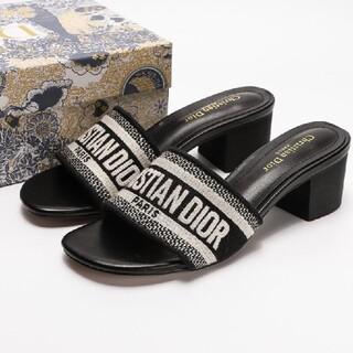 Christian Dior ディオール サンダル ★ブラック 05