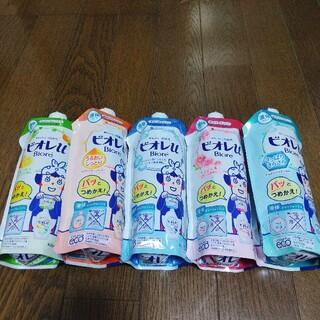 カオウ(花王)のビオレu ボディソープ 詰め替え用 340ml✖️5個セット(ボディソープ/石鹸)
