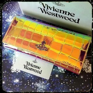 Vivienne Westwood - 新品・ARCHIVE ORB CLASSIC WALLET・レインボー