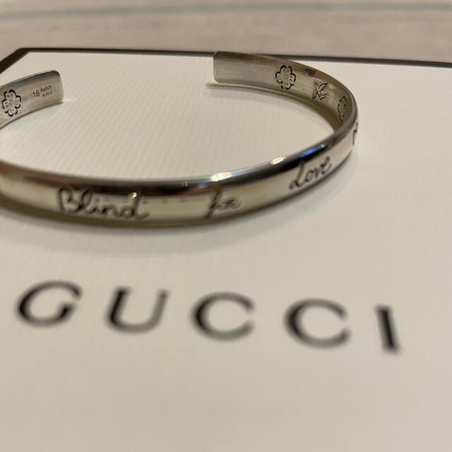 Gucci(グッチ)のGUCCI blindforlove バングル メンズのアクセサリー(ブレスレット)の商品写真