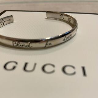Gucci - GUCCI blindforlove バングル