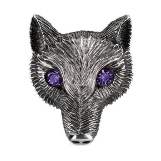 UNDERCOVER - 高橋盾着 GUCCI Fox Head Ring With Crystals
