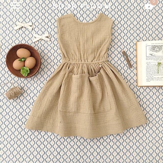 Caramel baby&child (キャラメルベビー&チャイルド)の専用♡soor ploom  Orla Dress 4y キッズ/ベビー/マタニティのキッズ服女の子用(90cm~)(ワンピース)の商品写真